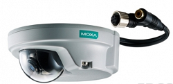 Купольная IP видеокамера MOXA VPort P06-1MP-M12-CAM36-CT