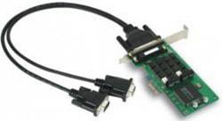 2-портовая низкопрофильная плата MOXA CP-132EL-I-DB9M