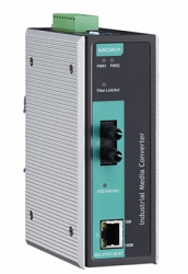 Медиаконвертер Ethernet MOXA IMC-P101-S-ST