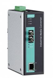 Медиаконвертер Ethernet MOXA IMC-101-M-ST-T-IEX