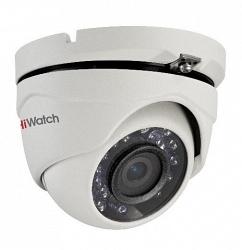 Купольная HD-TVI камера HiWatch DS-T103