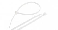 Стяжка NIKOMAX нейлоновая неоткрывающаяся, 300х4,5мм NMC-CTN300-45-SL-WT-100