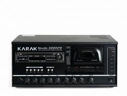 Портативный усилитель на 4 зоны - KARAK NANTA 2000CD