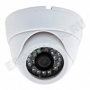 Купольная IP видеокамера ERGO ZOOM ERG-IP858G-1M