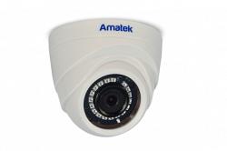 Купольная IP видеокамера Amatek AC-ID202 (3,6)