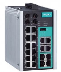 Коммутатор MOXA EDS-518E-MM-ST-4GTXSFP-T