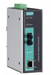 Медиаконвертер Ethernet MOXA IMC-P101-S-ST-T