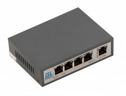 Коммутатор Gigalink GL-SW-F001-04P-I