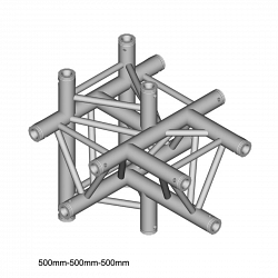 Металлическая конструкция Dura Truss DT 33 T51-TUD  T-joint + Up +