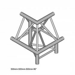 Металлическая конструкция Dura Truss DT 43 C32-ULDL   3way corner 90