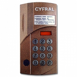 Микропроцессорный блок вызова ЦИФРАЛ CCD 2094.1И