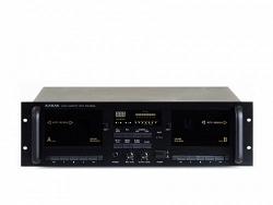 2-кассетный магнитофон с автореверсом - KARAK KPA-DD30