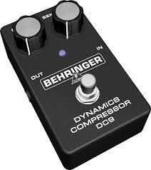 Педаль эффектов Behringer DC 9 DYNAMICS COMPRESSOR