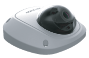 Уличная купольная IP-видеокамера для транспорта HIKVISION DS-2CD6520D-I