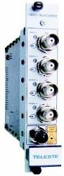 Четырехканальное устройство передачи видео по многомодовому волокну Teleste CRT410S
