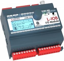 Модуль I/ O LonMark TP/ FT‑10 с физическими входами и выходами LIOB-154