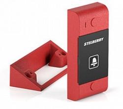 Красная абонентская панель для систем СОУЭ и диспетчерской связи Stelberry S-1021