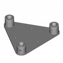 Металлическая конструкция Dura Truss DT 33 wall plate female