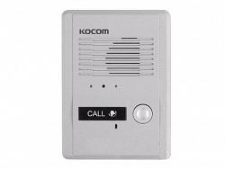 Вызывная панель аудиодомофона KOCOM MS-2D (серебро)