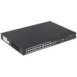 24-портовый коммутатор Dahua DH-PFS4226-24ET-360