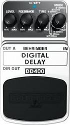 Педаль эффектов Behringer DD 400 DIGITAL DELAY