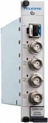 Четырехканальное устройство приёма видео по многомодовому волокну Teleste CRR410S