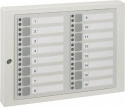 Блок индикации и блокировки на 16 групп детекторов - Honeywell 012542