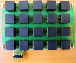 Клавиатура для панелей серии FP1200/2000 - GE/UTCFS KP2000