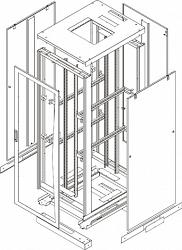Комплект стенок TLK TFE-2-3310-MM-BK