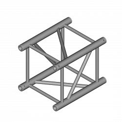 Металлическая конструкция Dura Truss DT 44-100 straight