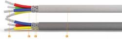 Кабель монтажный многожильный КСT КММС 4х0,35мм