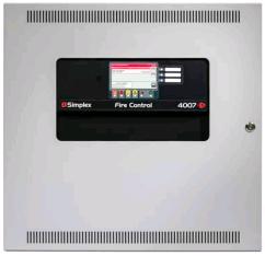 Панель пожарной сигнализации Simplex 4007-9102