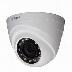Уличная купольная мультиформатная видеокамера Dahua DH-HAC-HDW1400MP-0280B