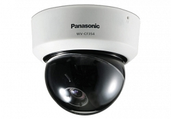 Видеокамера цветная купольная Panasonic WV-CF354E
