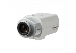 Видеокамера цветная корпусная Panasonic WV-CP300/G