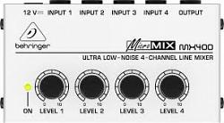Звуковой микшер Behringer MX400
