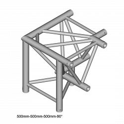 Металлическая конструкция Dura Truss DT 43 C34-DLDL   3way corner 90