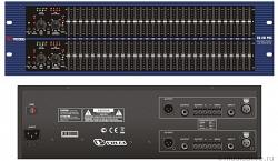 Профессиональный эквалайзер графический двухканальный  VOLTA   EQ-231 PRO