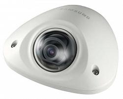Цветная антивандальная сетевая купольная видеокамера Samsung SNV-6012MP