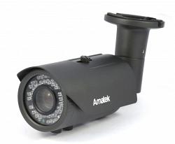 Уличная AHD видеокамера Amatek AC-AS205V (5-50)