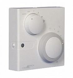 Модуль комнатного датчика с дисковым регулятором уставки +/-