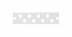 Адаптерная панель NIKOMAX NMF-AP08FCS-GY