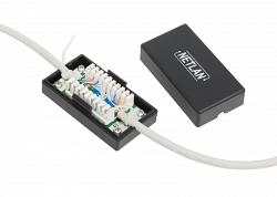 Кабельный соединитель NETLAN EC-UCB-IDC-UD2-BK-10