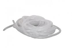 Лента NIKOMAX спиральная для организации и защиты кабельных пучков, диаметр 15мм NMC-SWB15-010-WT
