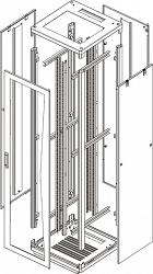 Напольный шкаф (каркас) TLK TFR-336060-XXXX-GY