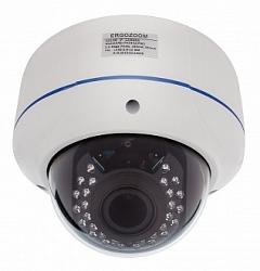 Купольная сетевая видеокамера ERGO ZOOM ERG-IPH3441(P)