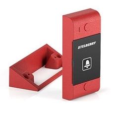 Красная абонентская панель со встроенным реле для систем СОУЭ и диспетчерской связи Stelberry S-1031