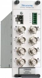Восьмиканальный приёмник видеосигналов Teleste CRR820M