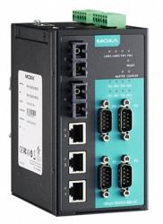 4-портовый асинхронный сервер MOXA NPort S8455I-SS-SC