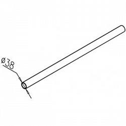 Поручень ограждения до 2000 мм OMA-01.306